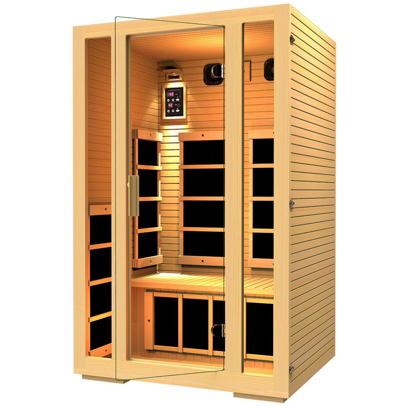 finding the best 2 person sauna for your home home sauna experience. Black Bedroom Furniture Sets. Home Design Ideas