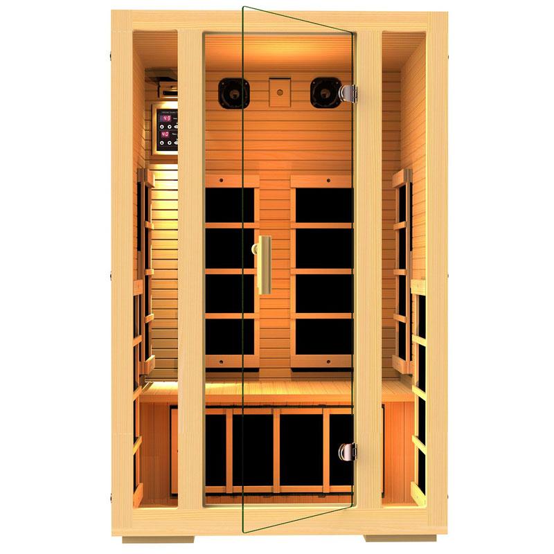 JNH Lifestyles 2 Person Far Infrared Home Sauna