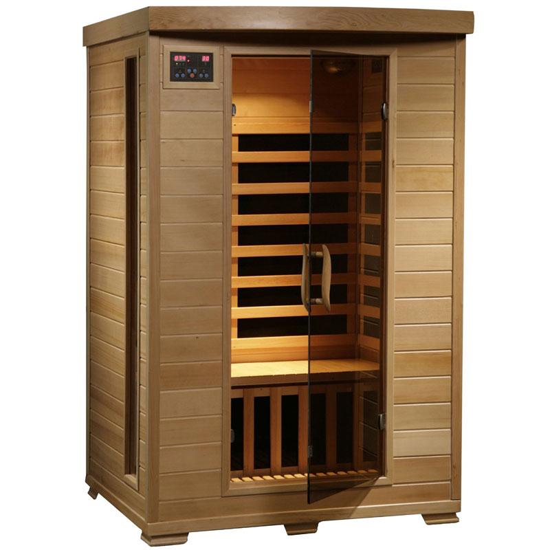 Radiant Saunas 2-Person Hemlock Deluxe