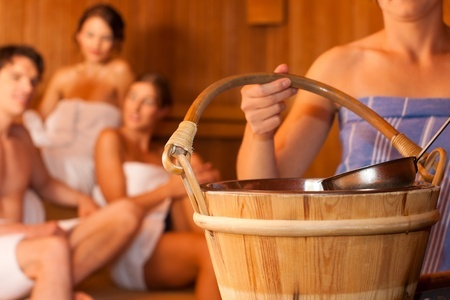 Wet Sauna Benefits-Bucket and Ladle