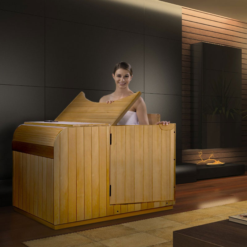 the best portable infrared sauna for your home home sauna experience. Black Bedroom Furniture Sets. Home Design Ideas